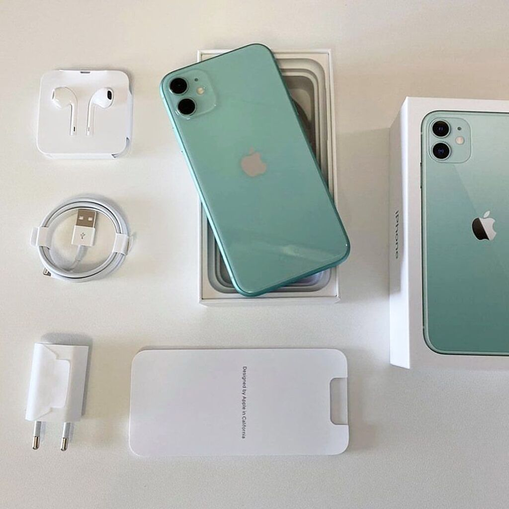 Νέα IPhone 11 512 GB Πράσινος: Νέα IPhone 11 512 GB Πράσινος