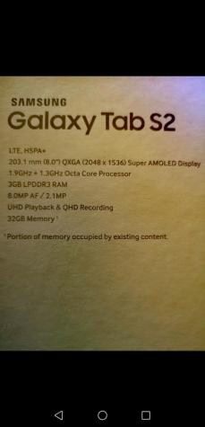 Samsung Tab s2. Photo 2