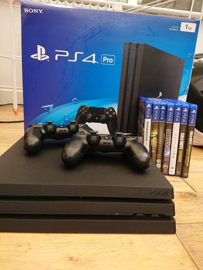 Νέο Sony PlayStation 4 Pro 1TB με 2 ελεγκτές και 7 δωρεάν παιχνίδια. Photo 3