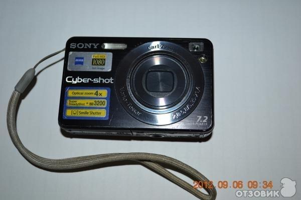 Sony super steady shot dsc-w120. Photo 0