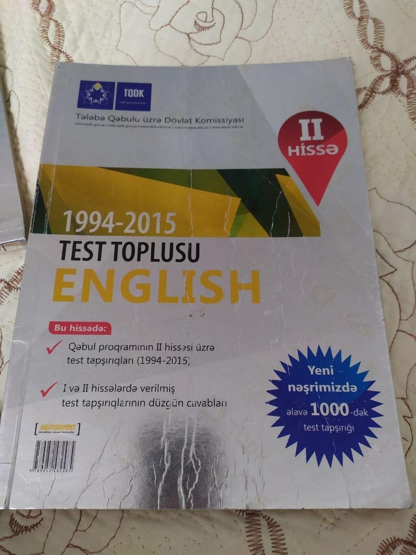 Ingilis dili test toplusu Içi teptezedir   Elan yaradılıb 14 Oktyabr 2021 17:55:35   KITABLAR, JURNALLAR, CD, DVD: Ingilis dili test toplusu Içi teptezedir