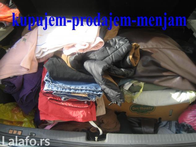 Kupujem musku odecu i tehnicku robu - Beograd