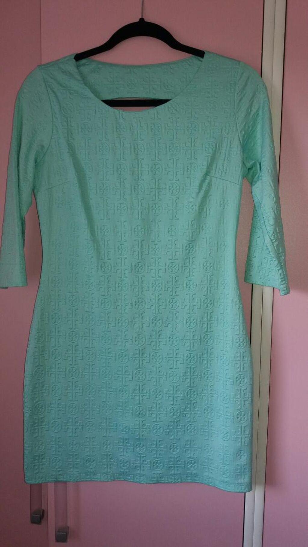Haljina mint boja. obucena samo jednom NOVO veličina M
