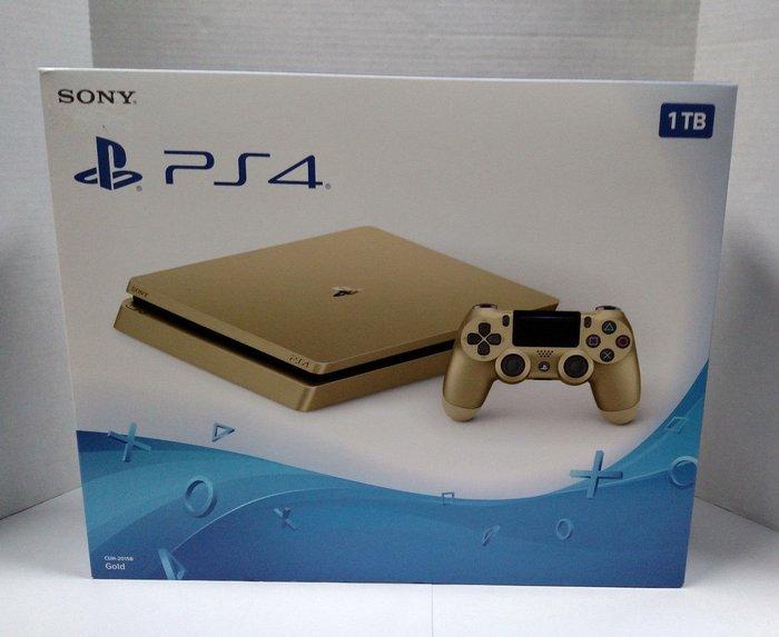 Подлинная PS4 Slim Gold 1TB Sony PlayStation 4 System Console в Ёри