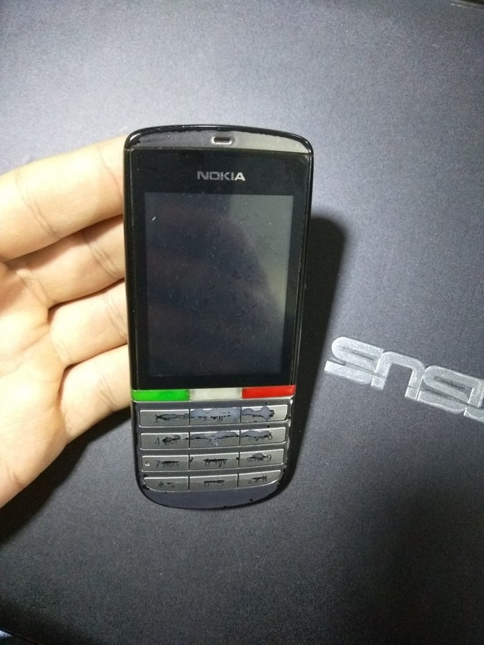 Bakı şəhərində Nokia 300. Problemsiz əla teldi. Full komplektasiyadı orjinal