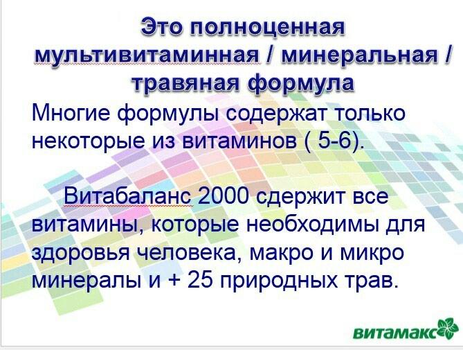Витабаланс 2000. Photo 5