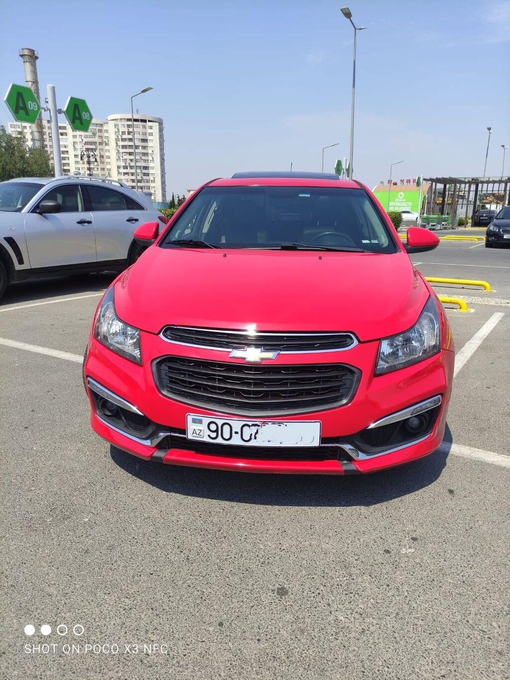Chevrolet Cruze 1.4 l. 2015   120000 km   Elan yaradılıb 13 Oktyabr 2021 11:14:56   CHEVROLET: Chevrolet Cruze 1.4 l. 2015   120000 km