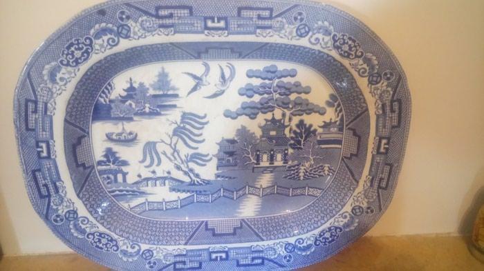 Πορσελάνη Κίνας αυθεντική walow με σφραγίδα γνησιότητας 44χ35. Photo 2