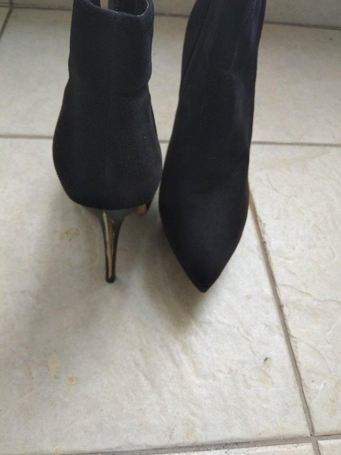 Μπότες. BSB  ελάχιστα φορεμένο δερμάτινο. Photo 1