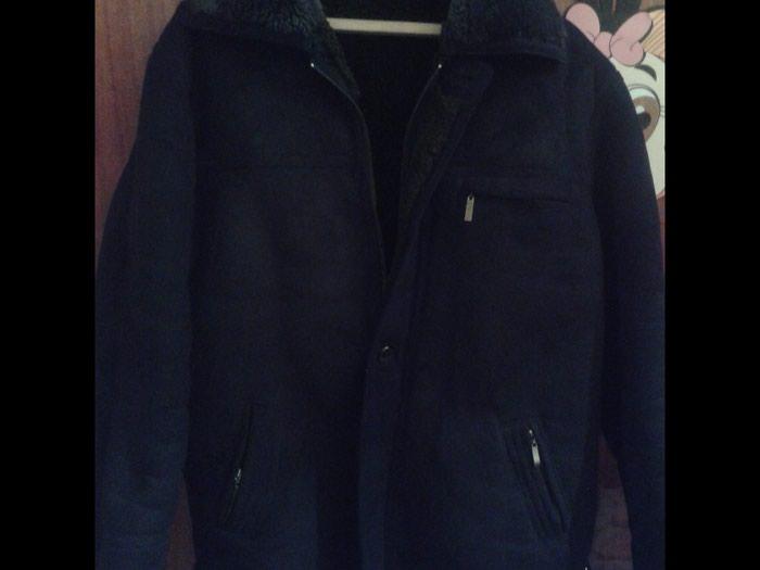 fb6f8fd282b4 продаю дубленку мужскую.черного цвета.б.у., цена  3000 KGS - Мужские ...