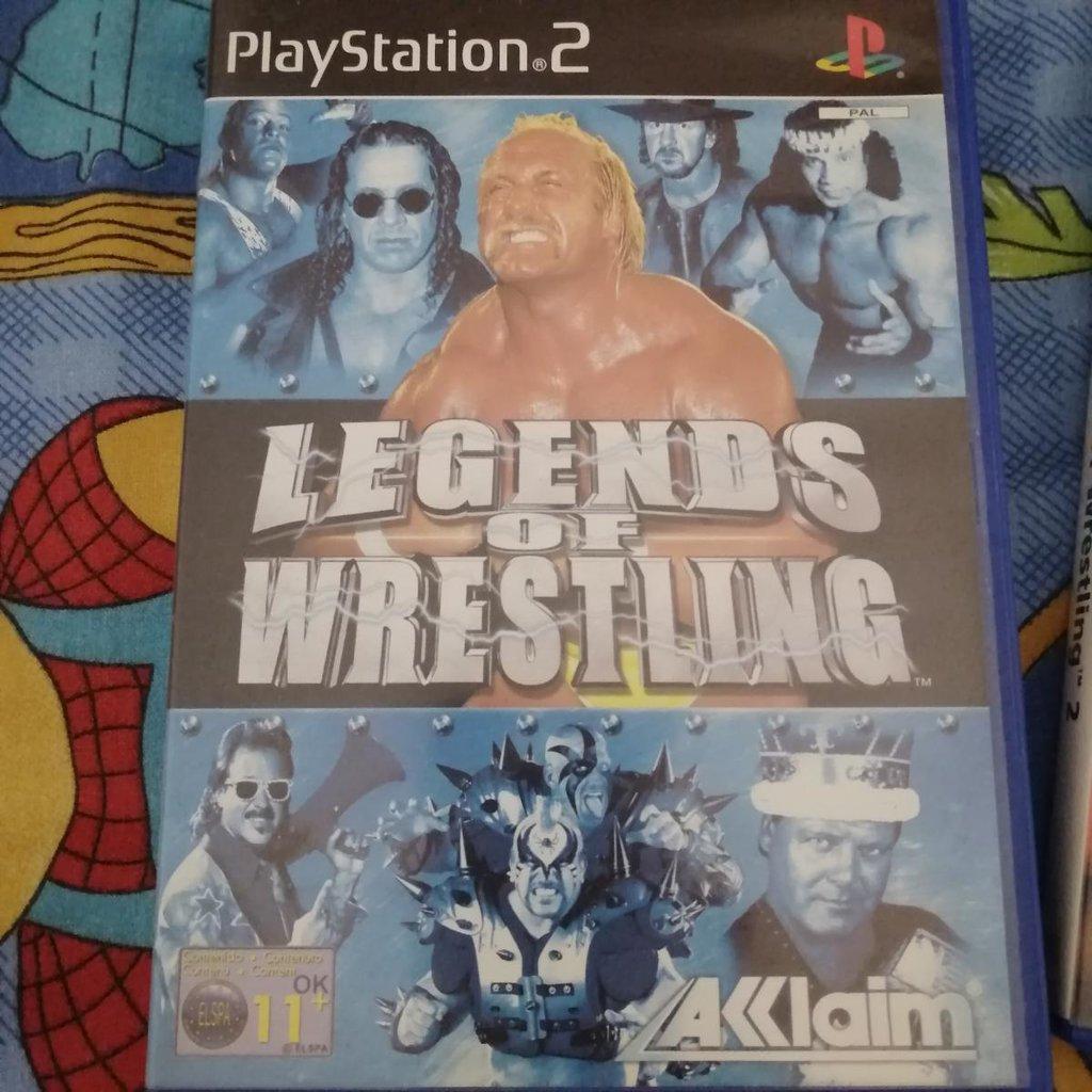 Legends of Wrestling I for Playstation 2