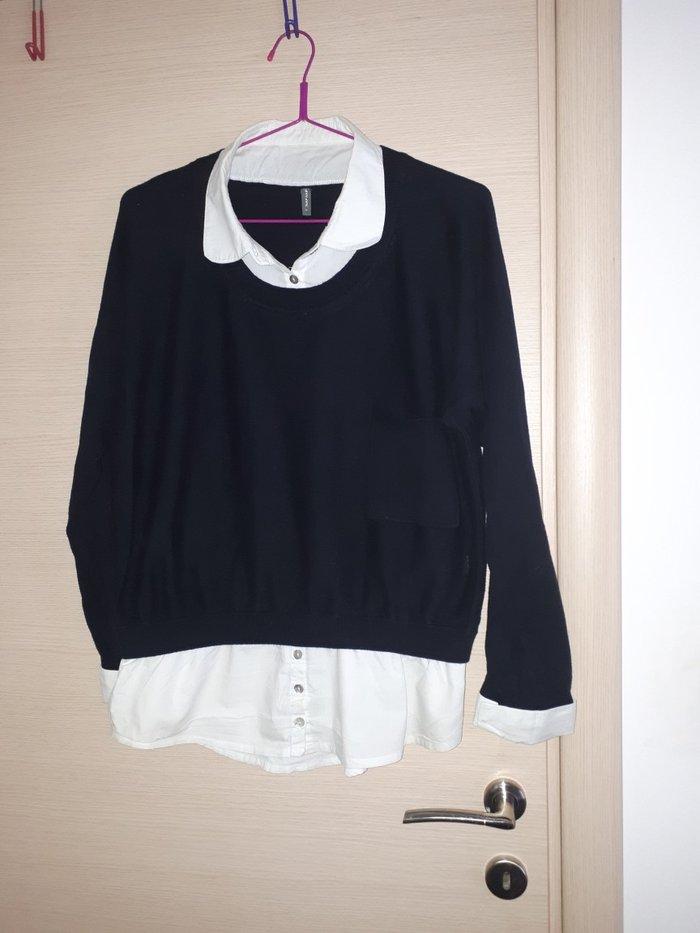 Μπλουζα με ενσωματωμενο πουκαμισο naf. Photo 2
