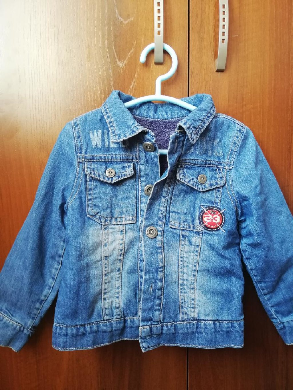 Детская курточка унисекс. Качество отменное. С утепление б/у