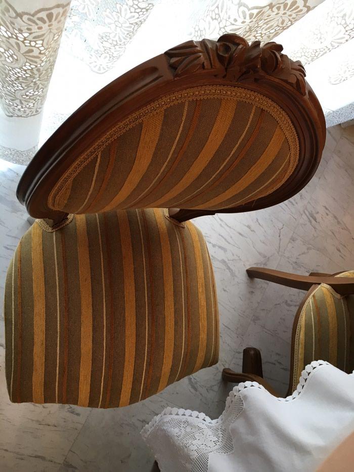 Ροτοντα μασίφ 1,14 με δυο προεκτασεις (46+46) και 8 καρέκλες . Photo 3