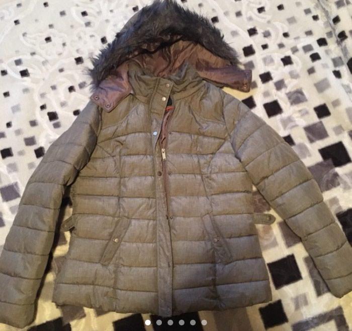 Prelepa nova nenosena melirana braon jakna. L vel. Photo 0