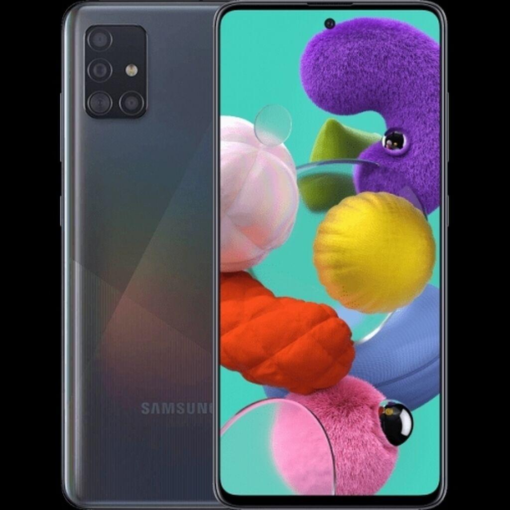 Samsung | 128 ГБ | Черный | Сенсорный, Отпечаток пальца, Две SIM карты: Продам samsung A51 2020 128Gb