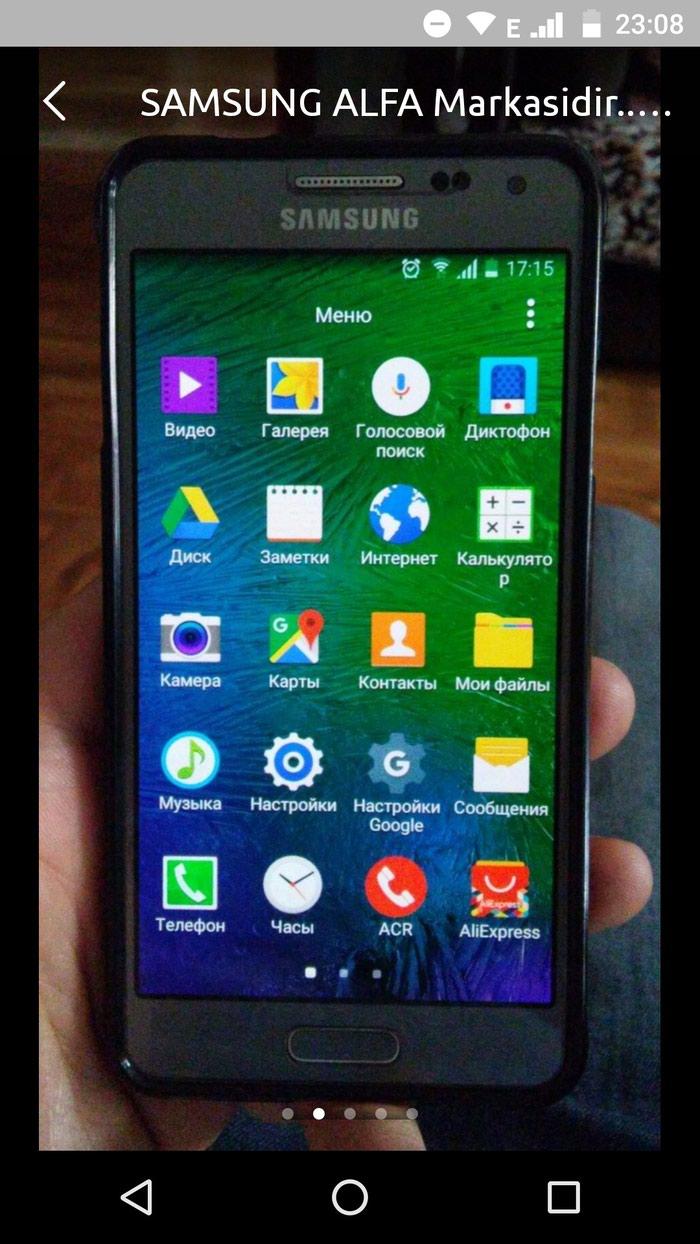 İşlənmiş Samsung Galaxy Alpha 32 GB boz. Photo 5