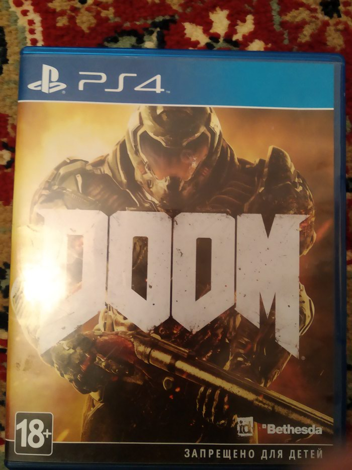 Doom 4 ps4. Photo 0