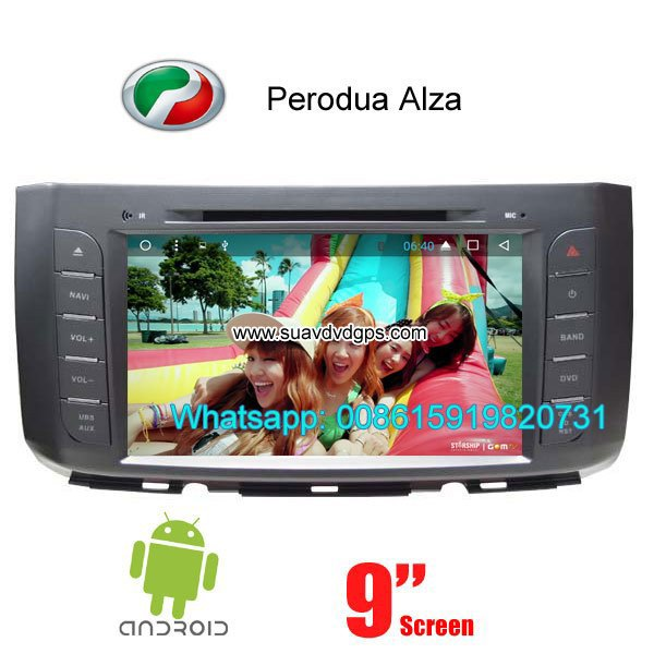 Perodua Alza Android Car Radio WIFI DVD GPS navigation camera
