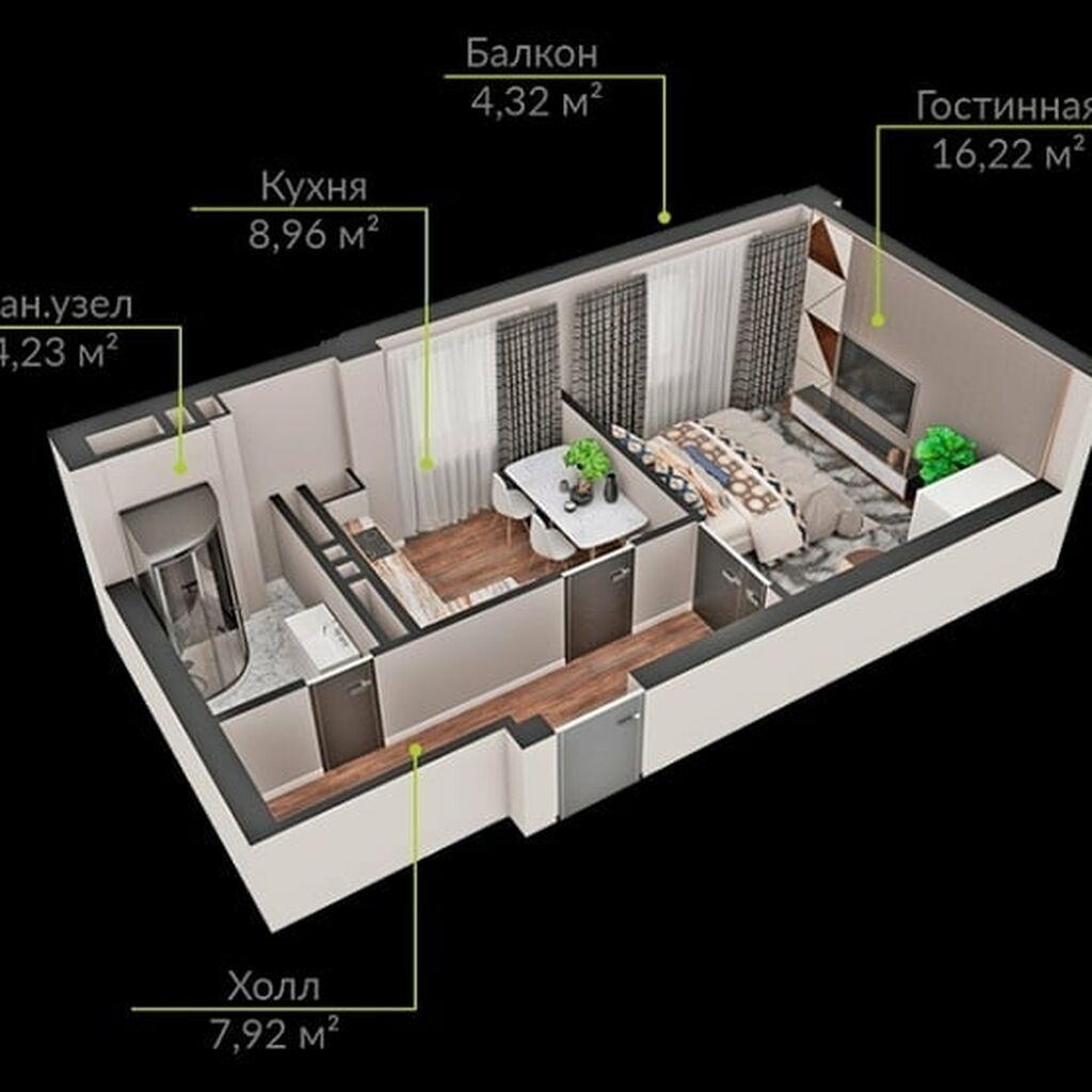 Продается квартира: Элитка, 1 комната, 42 кв. м: Продается квартира: Элитка, 1 комната, 42 кв. м