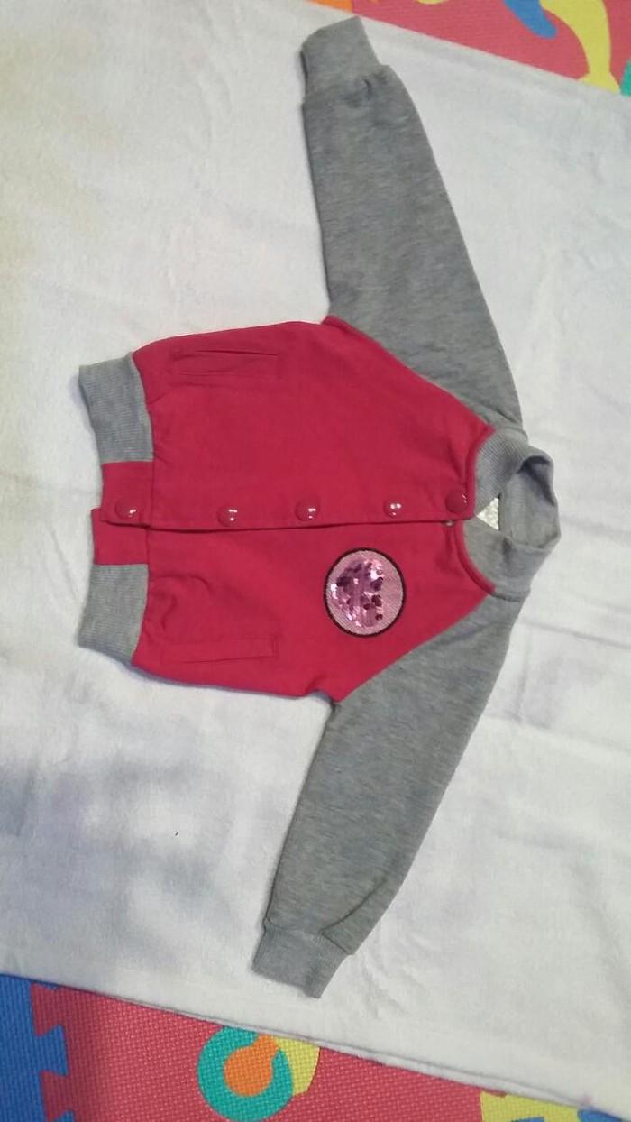 Duks jaknica pamucna sa sljokicama za male smizle nosen jedan put