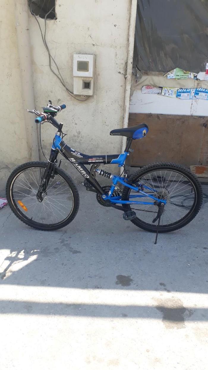 24 lüg rambo velosipedi yaxşı vəziyyətdədir . Photo 0