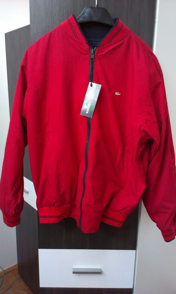 Lacosta sa dva lica, Mushka jaknica sa etiketom, vel M - Obrenovac