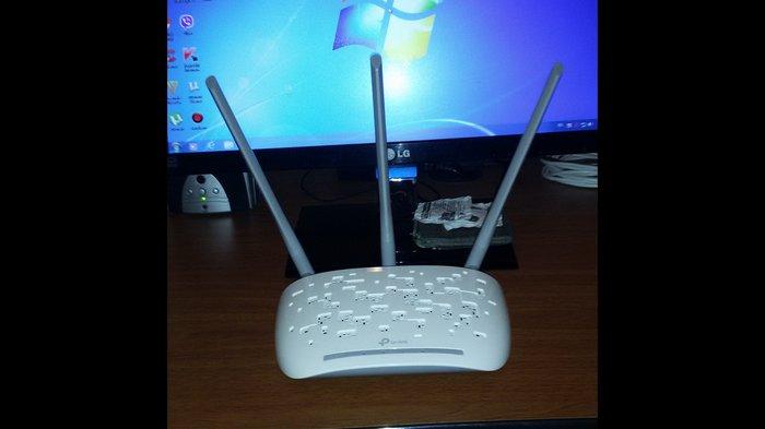 Bakı şəhərində Tp-link TL-WA901ND 3 antena Range Extender 450mbps access point tep