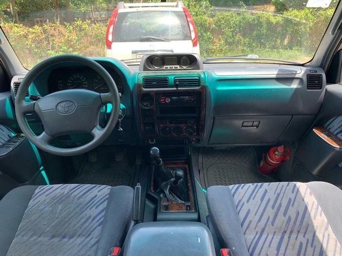 Toyota Land Cruiser Prado 1997. Photo 7