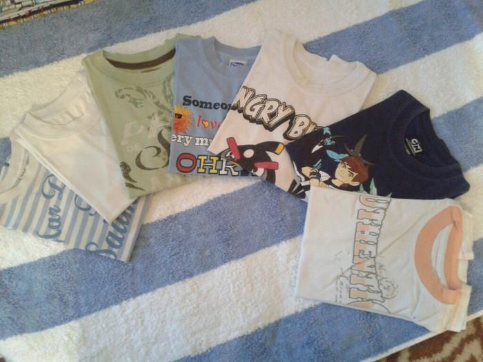 Paket majica(7kom.kratki rukav)-komplet,velicina 4