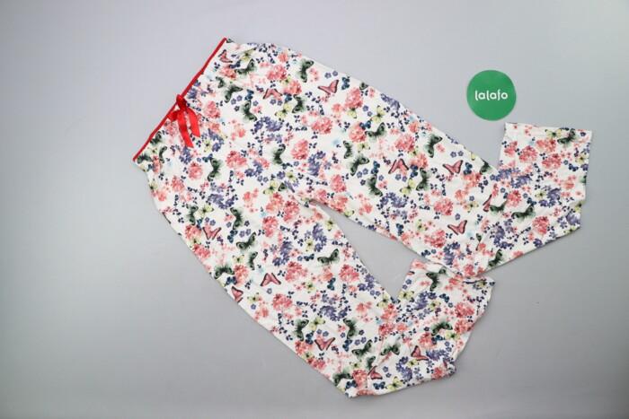 Жіночі штани в квітковий принт Poem Life р. XXS    Довжина: 95 см Довж: Жіночі штани в квітковий принт Poem Life р. XXS    Довжина: 95 см Довж