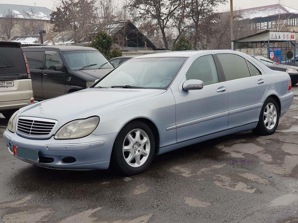 Mercedes-Benz S-Class 3.2 л. 2001 | 123 км: Mercedes-Benz S-Class 3.2 л. 2001 | 123 км