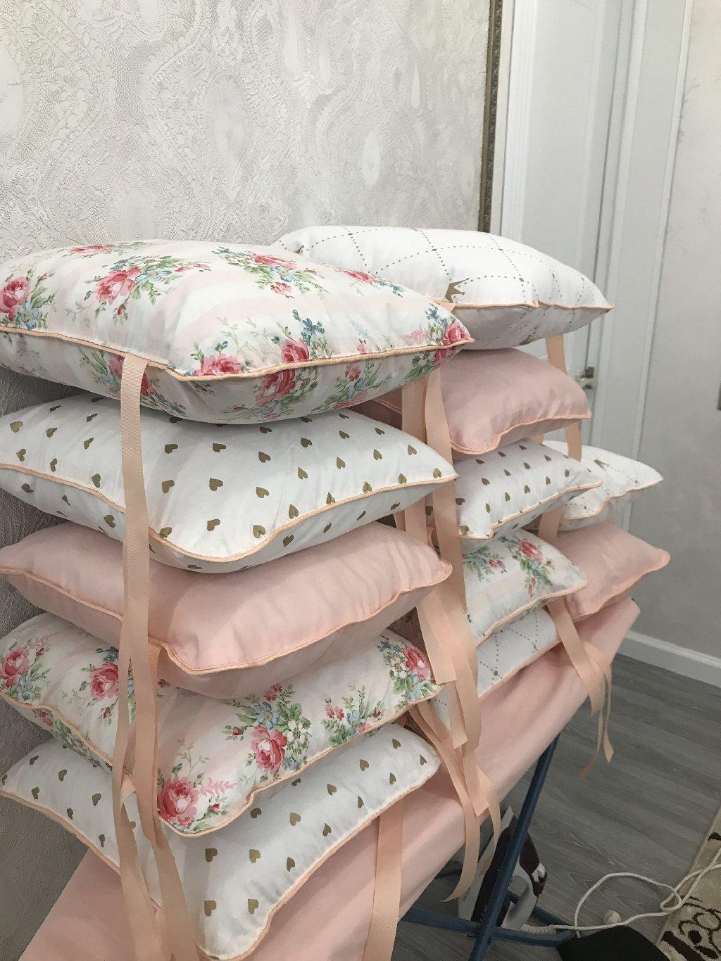 Бортики в кроватку,кокон,матрас в коляску,одеяло на заказ из турецкого 100%хлопка