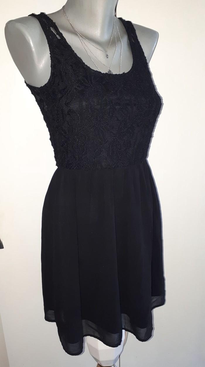 Crna haljinica /cipka S