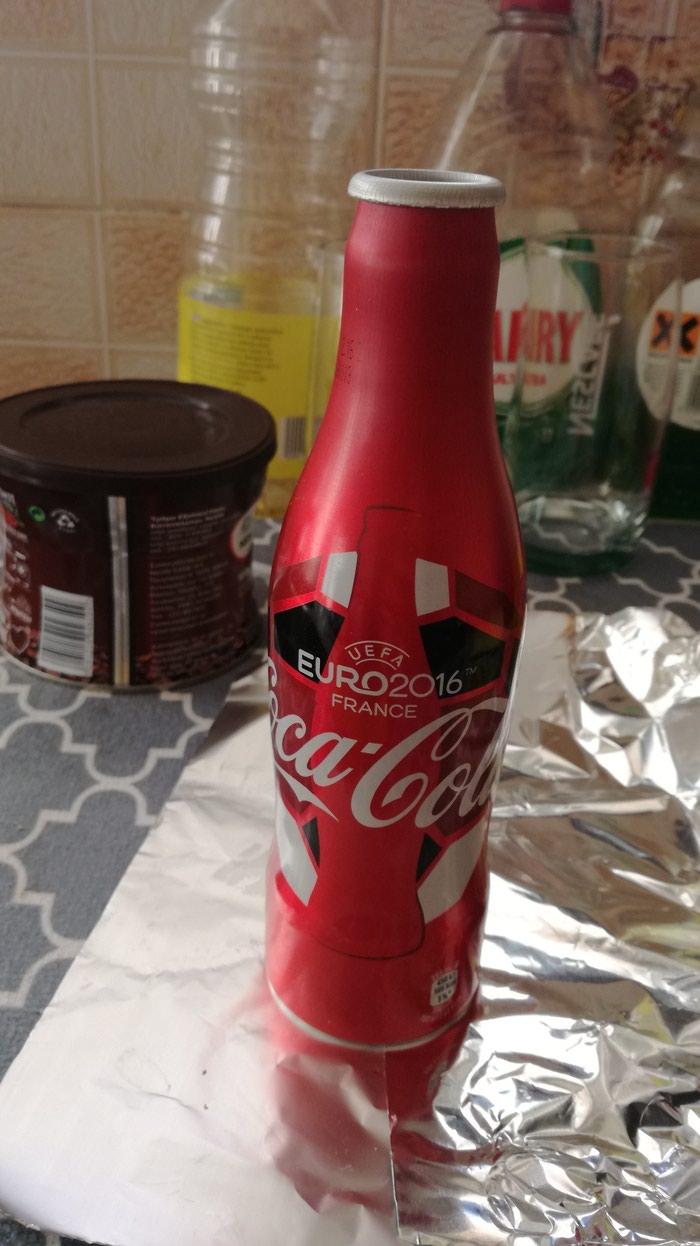 Coca cola Euro 2016 empty bottle. Photo 0