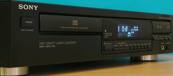 Sony CDP-397 Single Disc CD Player