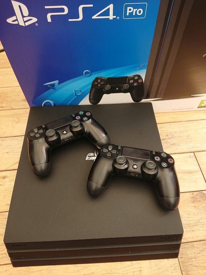 Νέο Sony PlayStation 4 Pro 1TB με 2 ελεγκτές και 7 δωρεάν παιχνίδια. Photo 1