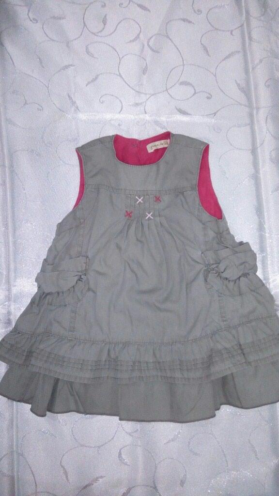 3-6 месяцев сарафан, платье. 3-6 aylig üçün don . Photo 0