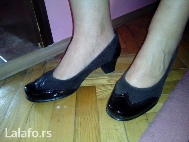 Crne kvalitetne cipelice. Velicina 37