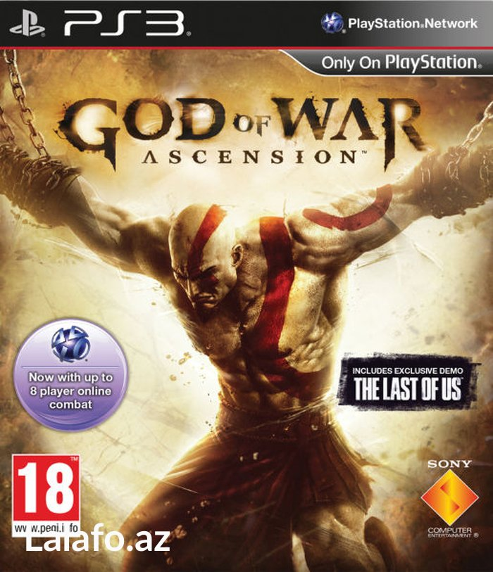Bakı şəhərində Ps3 *god of war - ascension*