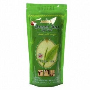 Соль скраб для тела Зеленый чай  в Гафуров