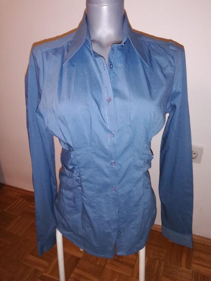 Košulje i bluze - Novi Sad: Nenosena Vero Moda petrolej boja