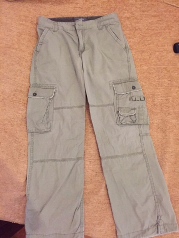 dd1296fdbfc Zara Cargo Boys pants . New . Age 11-12 Bought 32€ for 18 EUR in ...