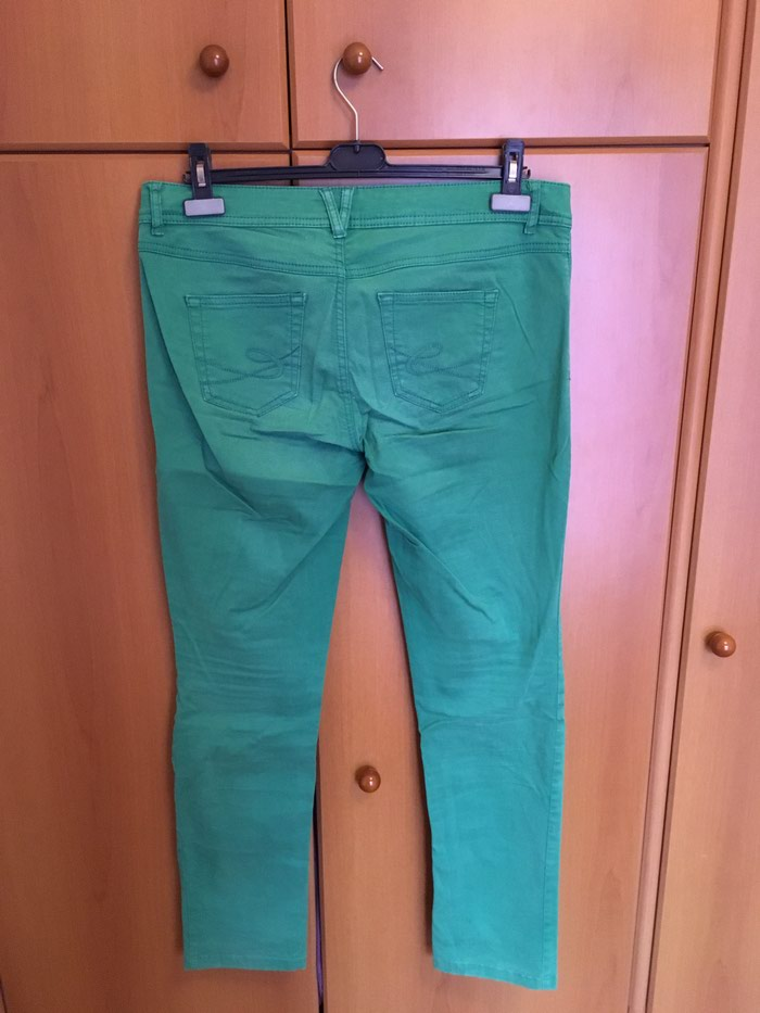 EDC by Esprit green pants size 40 regular in perfect condition. Photo 2