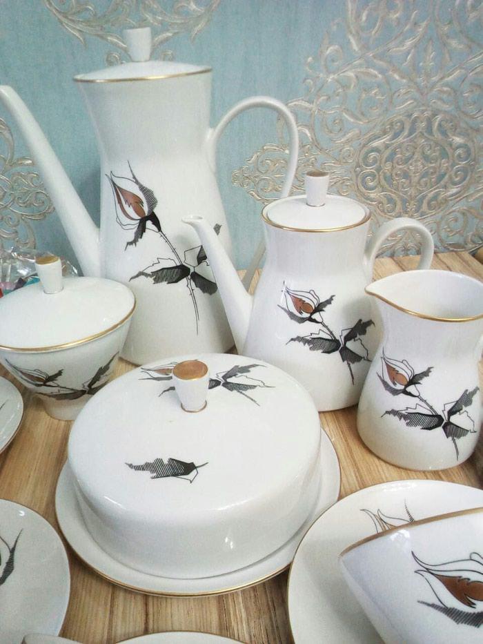 Чайный сервиз гдр, 6 персон. Photo 0