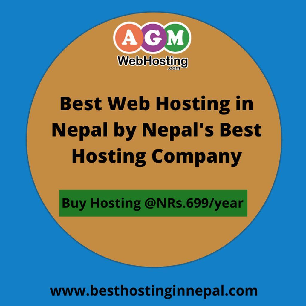 Best Web Hosting in Nepal by Nepal's Best Hosting Company: