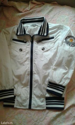 Gardaroba za decake lagana bela jaknica suskavac br. 8 odlicna za prol - Smederevo