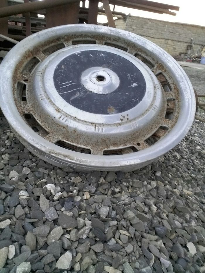 Volqa qaz avtomobil disk təkər kalpakları 1 komplekt 4 ədəd. Photo 1
