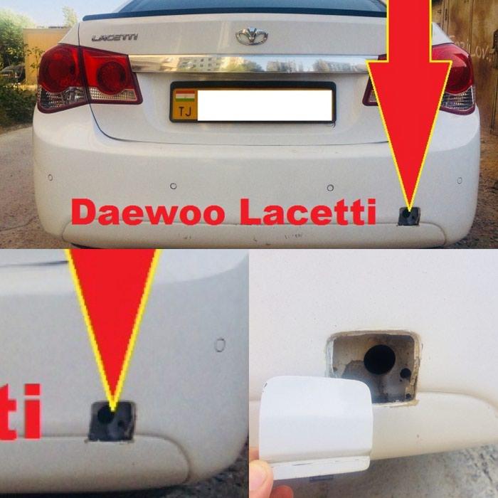 Задняя буксировочная заглушка от Daewoo Lacetti