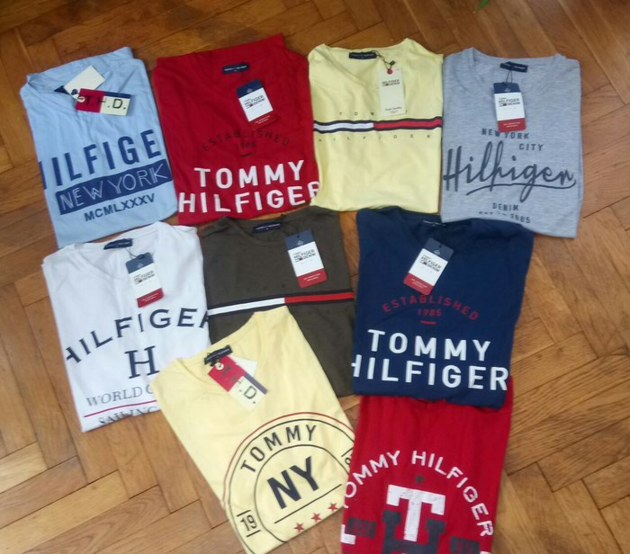 TOMMY,POLO,NIKE,DSQUARED...EXTRA MAJICE L,XL. Photo 0